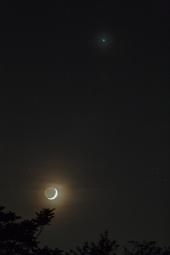 Crescent-Moon-Jupiter