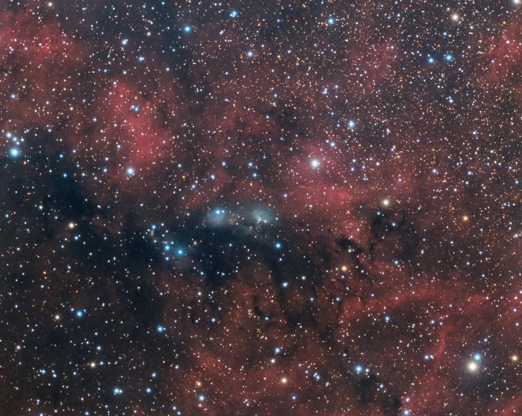 NGC 6914 SVQ-100 Apogee Ascent A694 Atlas EQ-G w/eqmod 5x10min Lum 6x10min Red 6x10min Green 6x10min Blue Total:  3.8 Hours Greene County, PA
